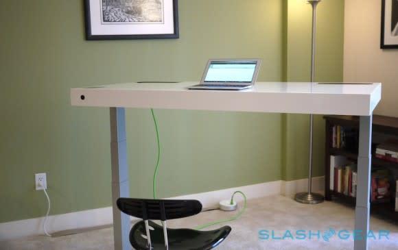 Stir Kinetic Desk Hands On: The Standing Desk Gets Smart