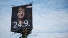 'It's not over yet,' Merkel warns supporters before vote