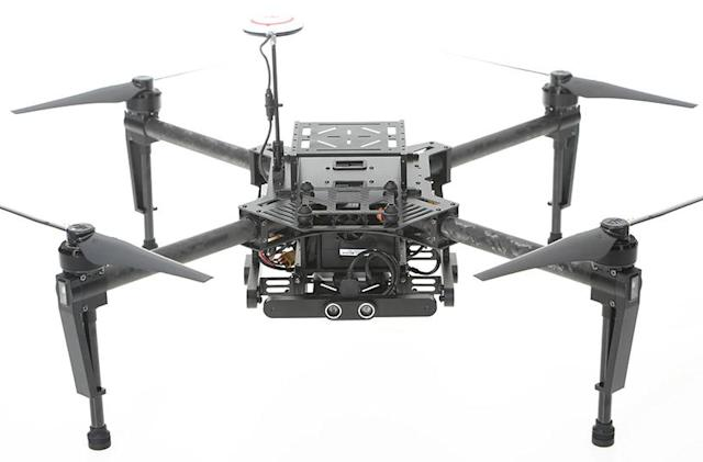 DJI's experimental drone will help prevent collisions
