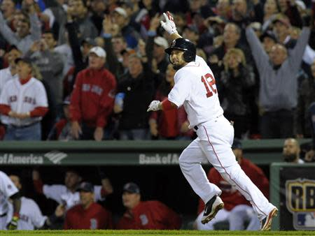MLB: ALCS-Detroit Tigers at Boston Red Sox