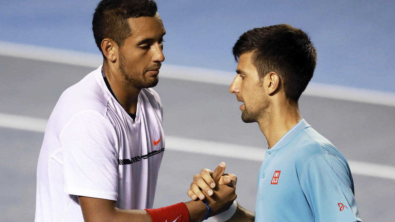 Novak Djokovic's shock response to brutal Nick Kyrgios sledge