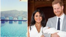Inside the LA mansion where Harry and Markle are self-isolating