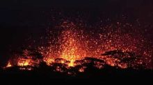 Breathtaking Night Video Of Massive Lava Fountains As Fissure 18 Erupts