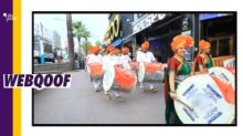 Spain Dhol Procession Wasn't Celebrating Ram Mandir Construction