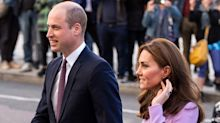 Has Prince William been taking lessons in PDA from Prince Harry?