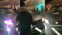 A man drove his car into a nightclub in Kent