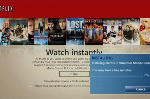 Windows 7 Media Center's upgraded Netflix Watch Instantly interface now available