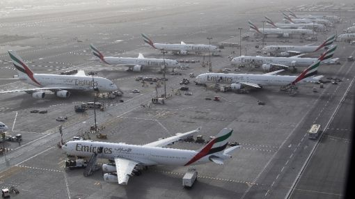 Drone halts traffic at Dubai airport