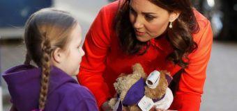 Kate keeps Diana's legacy alive at hospital