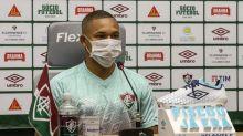 Wellington Silva tem lesão constatada e está fora do clássico contra o Botafogo no domingo