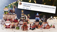 Customers slam Woolies' Christmas cardboard collectables