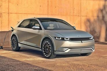 現代電動車副品牌IONIQ推出首部電動車Ioniq 5電動跨界休旅,擁有480公里的最大續航力