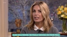 Paul Hollywood's ex wife Alex admits divorce from 'GBBO' judge has been 'difficult'