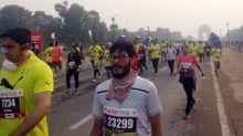 Airtel Delhi Half Marathon flags off despite high pollution levels