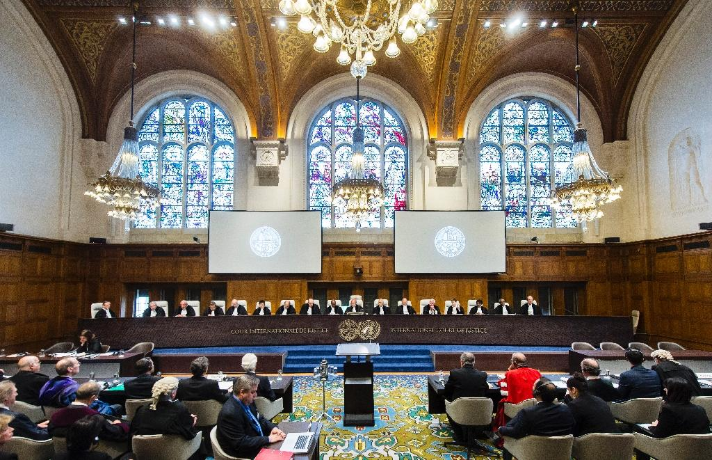 Set up in 1946 after World War II, the International Court of Justice's 15-judge bench, elected for a term of nine years, is seen as the final word in rows between states and an impartial arbiter when quarrels erupt between neighbours (AFP Photo/FRANK VAN BEEK, Handout)