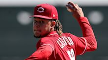 Luis Castillo survives offseason trade talks and Cincinnati Reds hope he leads rotation