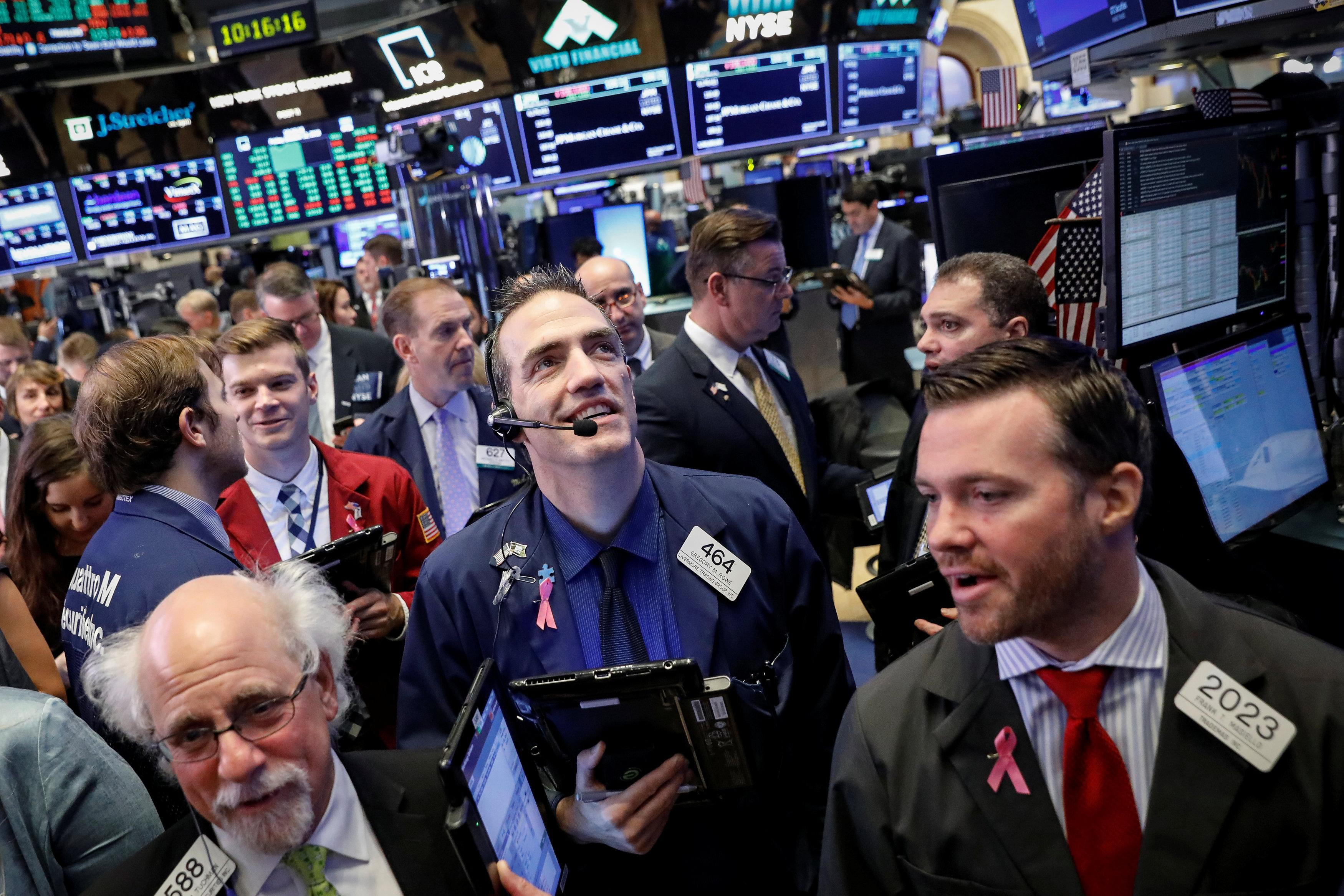 Stocks rise, Dow gains more than 200 points