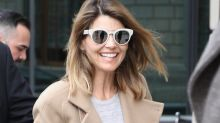 Lori Loughlin Is All Smiles After Landing in Boston for College Admissions Scandal Court Appearance