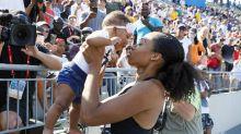 Atletas protestan contra penalizaciones por embarazo