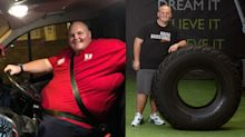Man enjoying new lease of life after losing 20 stone in a year