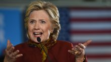Confident Clinton steps up in battle for Congress