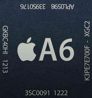 The A6 inside the iPhone 5 varies its clock speed for performance