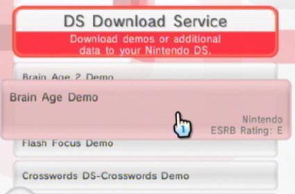 New DS demos are the old DS demos