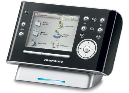 Marantz's RC9001 touchscreen remote with WiFi extender