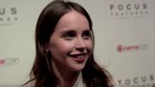 Fresh off 'Star Wars,' Felicity Jones talks about playing another pop culture icon: Ruth Bader Ginsburg