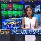 Oil market on edge on Iraq headlines