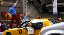 Hugh Jackman and Zac Efron take Broadway to the streets of New York
