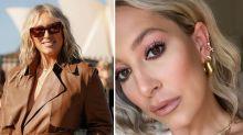 Phoebe Burgess hits back at surgery rumours in fashion week selfie