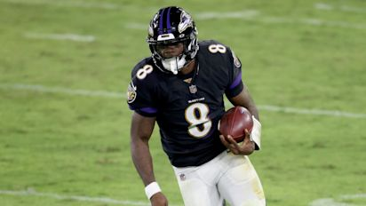 It's still full speed ahead for Ravens star Jackson