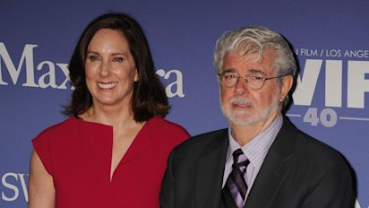 Kathleen Kennedy: Lucas finds it 'hard to let go' of Star Wars
