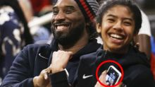 Devastating detail spotted in old photo of Kobe and Gianna Bryant