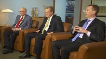 EXCLUSIVE: Warren Buffett's money managers, Todd Combs and Ted Weschler, speak