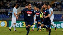 Napoli storm back at Lazio to top Serie A