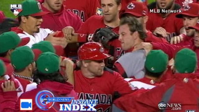 Instant Index: Canada, Mexico Face Off in Baseball Brawl
