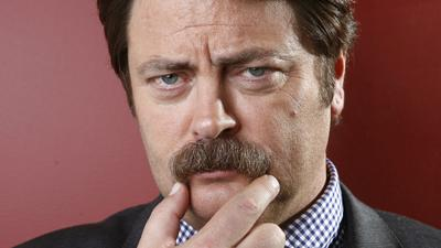 Nick Offerman Ponders 'Parks and Rec' Changes