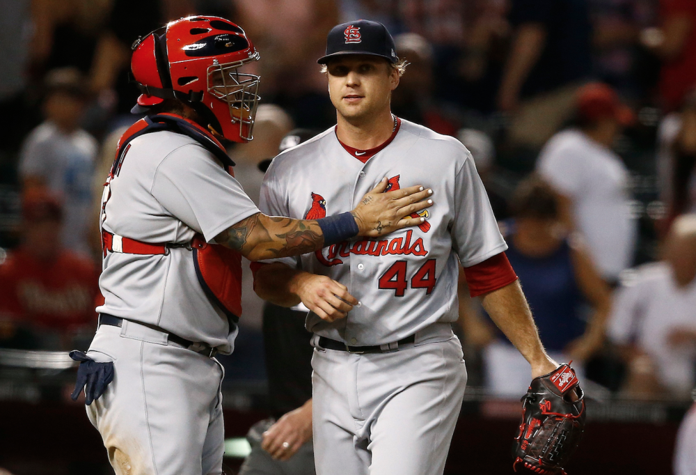 It was a little rocky, but Trevor Rosenthal did the job Wednesday
