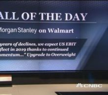 Call of the day: Walmart upgraded to overweight