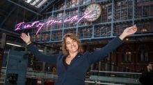 No time for it: Tracey Emin's artwork for St Pancras station is lame and unlovely