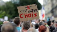 Manifestation anti-pass sanitaire: 26 interpellations à Paris samedi