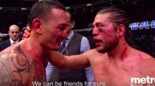 'We should be friends': Moment of sportsmanship stuns the UFC