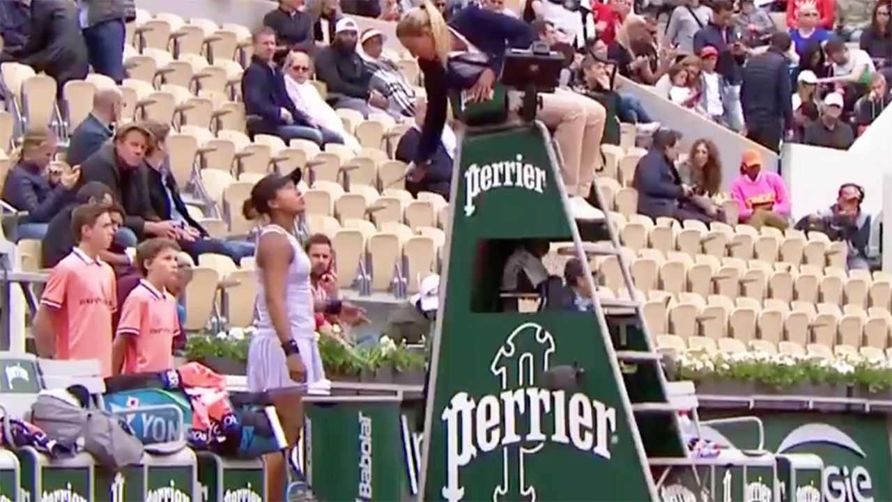 'Downright disrespectful': Outrage over controversial French Open moment