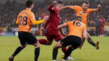 Foot - ANG - Liverpool s'impose encore en fin de match face à Wolverhampton grâce à Firmino