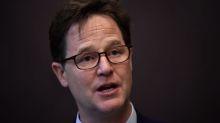 Facebook recrute l'ancien vice-Premier ministre britannique Nick Clegg