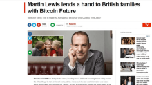 Money Saving Expert founder Martin Lewis targeted by Bitcoin scammers