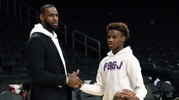 Pair of five-star recruits join LeBron's son
