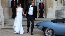Meghan wows in stunning second wedding dress